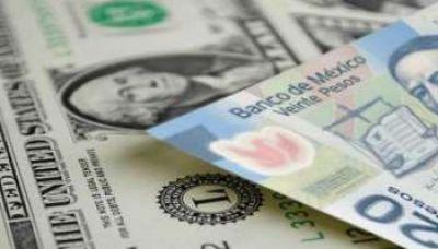 Peso mexicano avanza atento a inflación EEUU, bolsa retrocede
