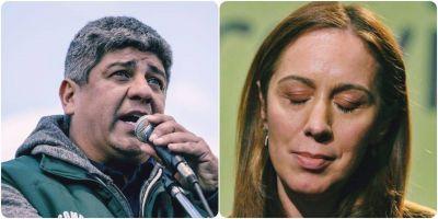 """Pablo Moyano le respondió a María Eugenia Vidal: """"Representa lo más recalcitrante de la derecha"""""""