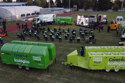 La Matanza | Cabandié entregó nuevos equipos para el tratamiento de residuos