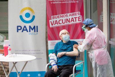 PAMI completó la aplicación de la primera dosis en geriátricos de Bahía y la zona