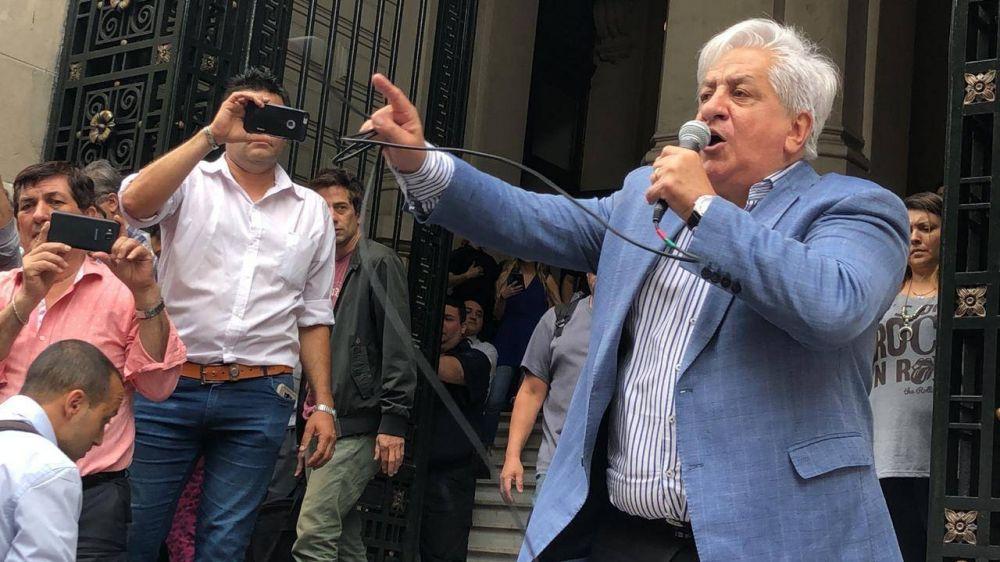 """Julio Piumato: """"Si no responden, el viernes 21 se paraliza la justicia en todo el país"""