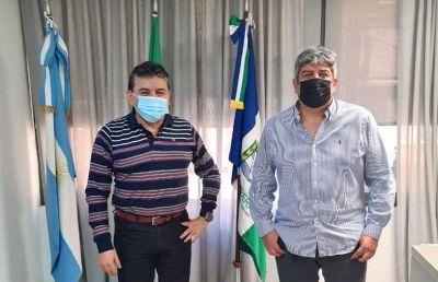 Voytenco se reunió con Pablo Moyano