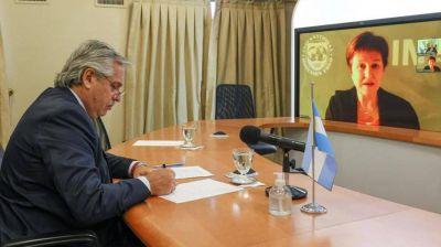 Alberto postergó su regreso a Argentina y crecen las chances de una cumbre con el FMI