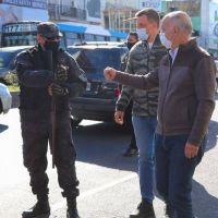 Seguridad: Grindetti encabezó un operativo del PRI en Lanús Oeste