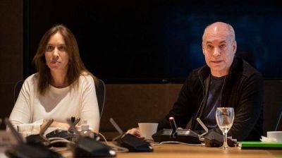 """Las listas, el armado y la estrategia """"moderada"""": Rodríguez Larreta y Eugenia Vidal visitan a Elisa Carrió"""