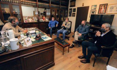 El ministro Ferraresi sigue manteniendo encuentros con ACUMAR e intendentes bonaerenses