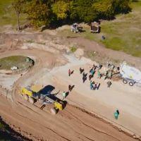 Gustavo Menéndez dio comienzo a las obras del nuevo Parque Industrial de Merlo