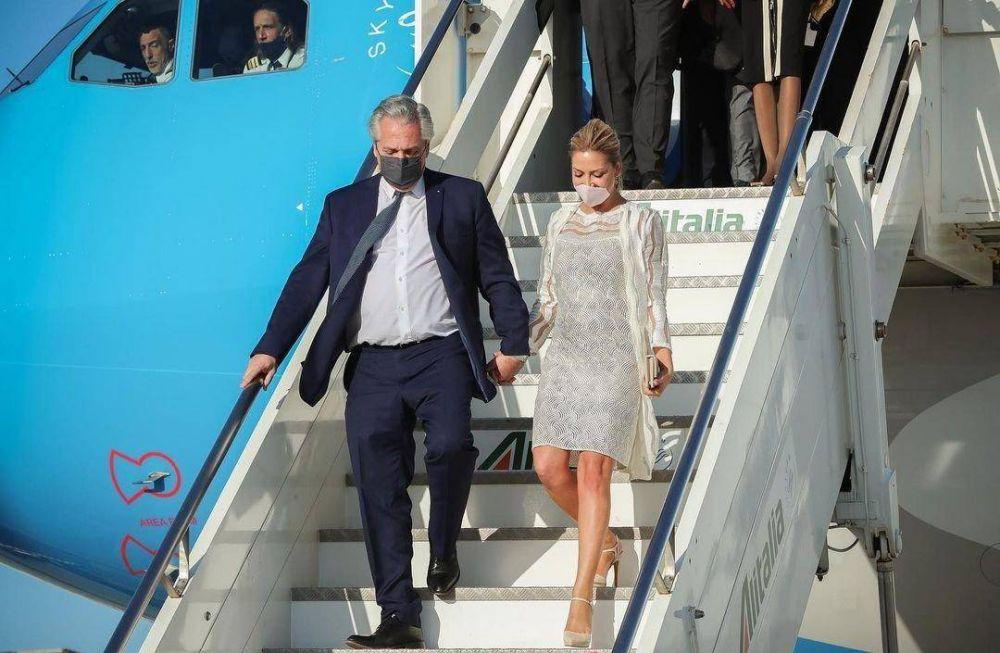 Entre el preacuerdo con el FMI y el supuesto embarazo de Fabiola, Alberto concluye la gira europea