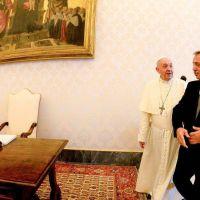 """El papa Francisco recibió a Alberto Fernández durante 35 minutos y el Vaticano destacó las """"buenas relaciones bilaterales"""""""