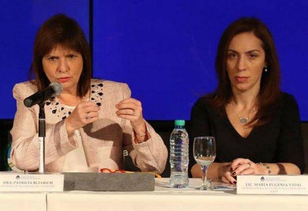 Juntos por el Cambio: Bullrich a CABA y ¿Vidal candidata en la provincia?