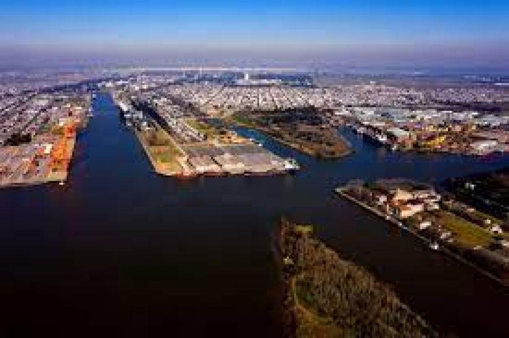 Desde el Puerto de La Plata destacaron el proyecto para una Zona Franca de Bolivia