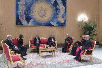 El Vaticano informó contenido de la reunión entre el Papa y el Presidente
