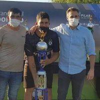 Pilar: avanza la construcción de Club Municipal Diego Armando Maradona