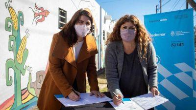 Moreno: Mariel Fernández firmó convenio con SEDRONAR para fortalecer acciones en torno a consumos problemáticos