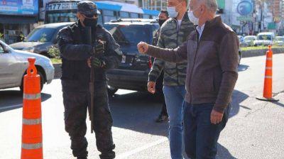 Grindetti encabezó operativo de seguridad en Lanús Oeste