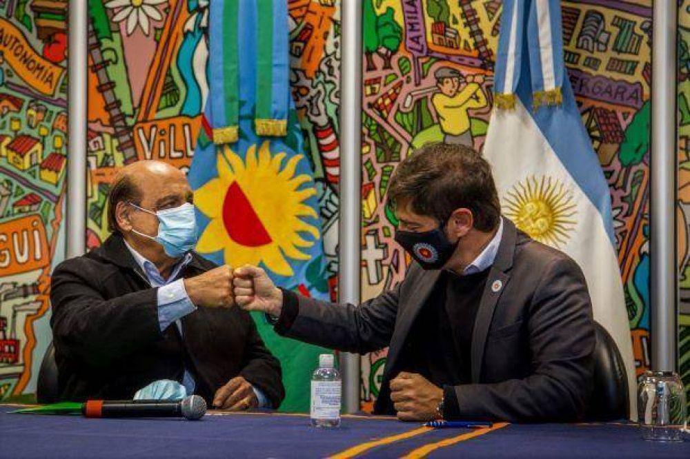 Mussi firmó un préstamo de 150 millones de pesos para la compra de vehículos y maquinarias