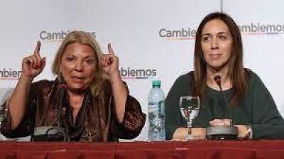 Elisa Carrió y María Eugenia Vidal acordaron