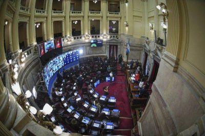 El Senado avaló el decreto que suspende las clases presenciales en el AMBA