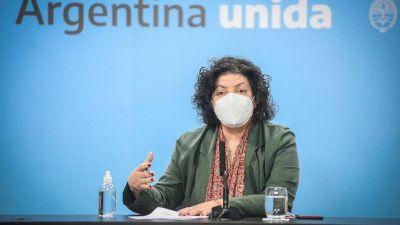 """Vizzotti sobre Almeyda y la """"falsa"""" compra de vacunas: """"La buena intención de alguien no se condice con el marco legal"""""""