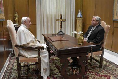25 minutos de reunión incómoda con el Papa y espera impaciente por el FMI: la suerte de Alberto depende de Georgieva