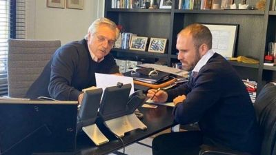 """Alberto Fernández, tras la reunión con Georgieva: """"La vocación es encontrar un acuerdo rápido, sin que exija mayores esfuerzos para el pueblo argentino"""""""