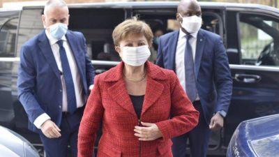 Las definiciones de Kristalina Georgieva al salir de la reunión con el Presidente