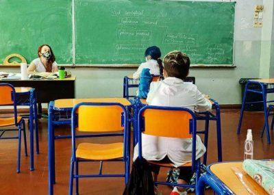 Sólo una de cada tres escuelas no tuvo casos de Covid-19 durante clases presenciales