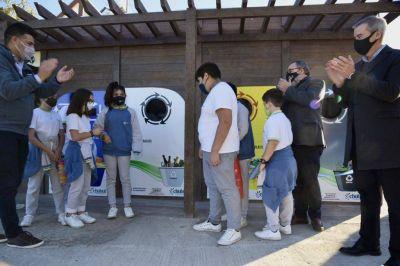 Inauguraron el primer Ecopunto sustentable para recuperación de residuos reciclables