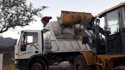 Capilla del Monte vendió 5 mil kilos de papel del reciclado