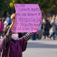 Las protestas docentes obligan a Larreta a destinar $120 millones para comprar insumos contra el Covid