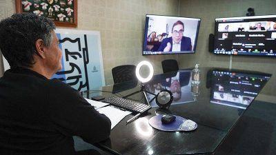 Jorge Macri participó de un seminario internacional sobre participación ciudadana