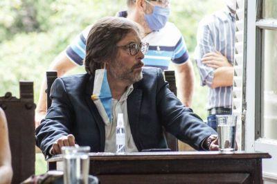 El concejal Marcelo Sánchez en