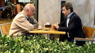 Reunión entre Grindetti y Ritondo por Independiente