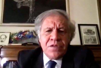 Luis Almagro reconoció la esencialidad de las Iglesias en las Américas