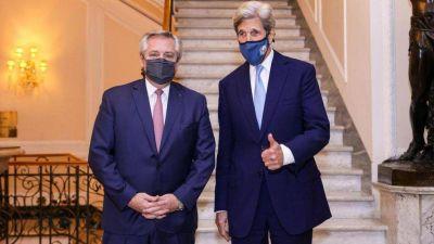 """Alberto Fernández se reunió con John Kerry y hablaron sobre Venezuela: """"Me pidió mi opinión y se la di"""""""