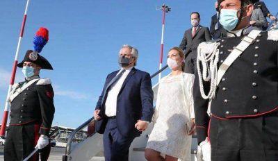 Alberto Fernández vuelve al país tras su gira por Europa