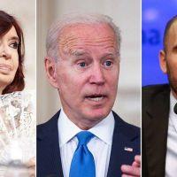 """El discurso """"peronista"""" de Biden, los tuits celebratorios de Cristina Kirchner y la fuerte puja con Martín Guzmán por las tarifas"""