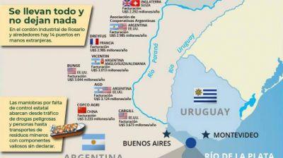 Hidrovía / Canal de Magdalena: Qué opinan los dirigentes sindicales