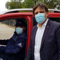 El ministro de Seguridad Alfonso Mosquera confirmó que tiene coronavirus