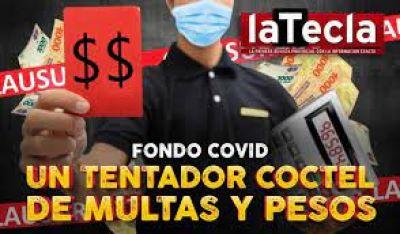 Fondo Covid: un tentador cóctel de multas y pesos