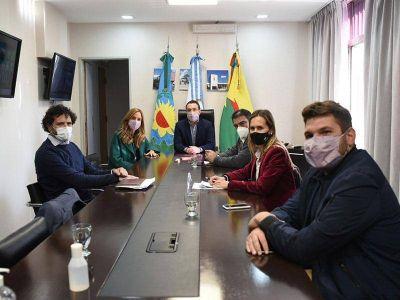 Watson y Tolosa Paz promueven políticas sociales para Florencio Varela