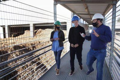 Rodríguez Larreta visitó la Planta de Reciclado de la Ciudad en Villa Soldati