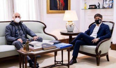 Kicillof se reunió con el Arzobispo de La Plata, Víctor Manuel Fernández