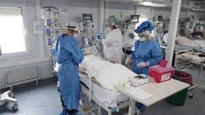 Preocupación por las camas de terapia: varias provincias superan el 90% de ocupación