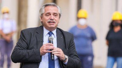 Alberto Fernández encabeza el sorteo de más de 71 mil Créditos Casa Propia
