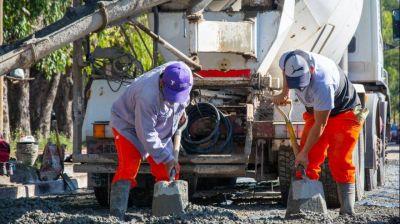 Comienzan obras viales en La Carolina 2, Santa Rosa, Pico de Oro y General San Martín