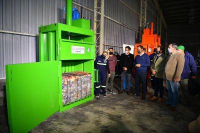 Se inauguró la primera planta de Gestión de Residuos Sólidos Urbanos en Escobar
