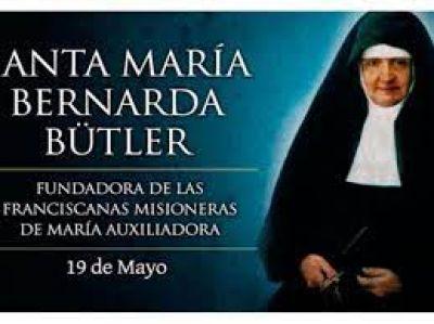 Hoy es fiesta de Santa María Bütler, la misionera de los indigentes en Sudamérica