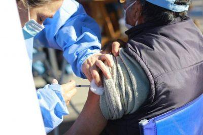 Más de 200 malvinenses se vacunaron en Grand Bourg