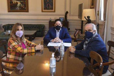 Junto al ministro Trotta, Granados confirma que la Universidad de Ezeiza va a ser nacional